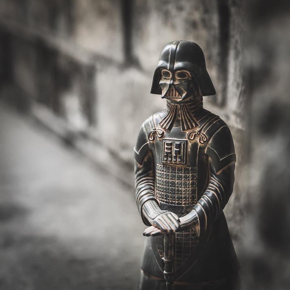 WOAW 獨佔 FLABSLAB 最新 Darth Terra「I Am Your Father」鐵製擺設