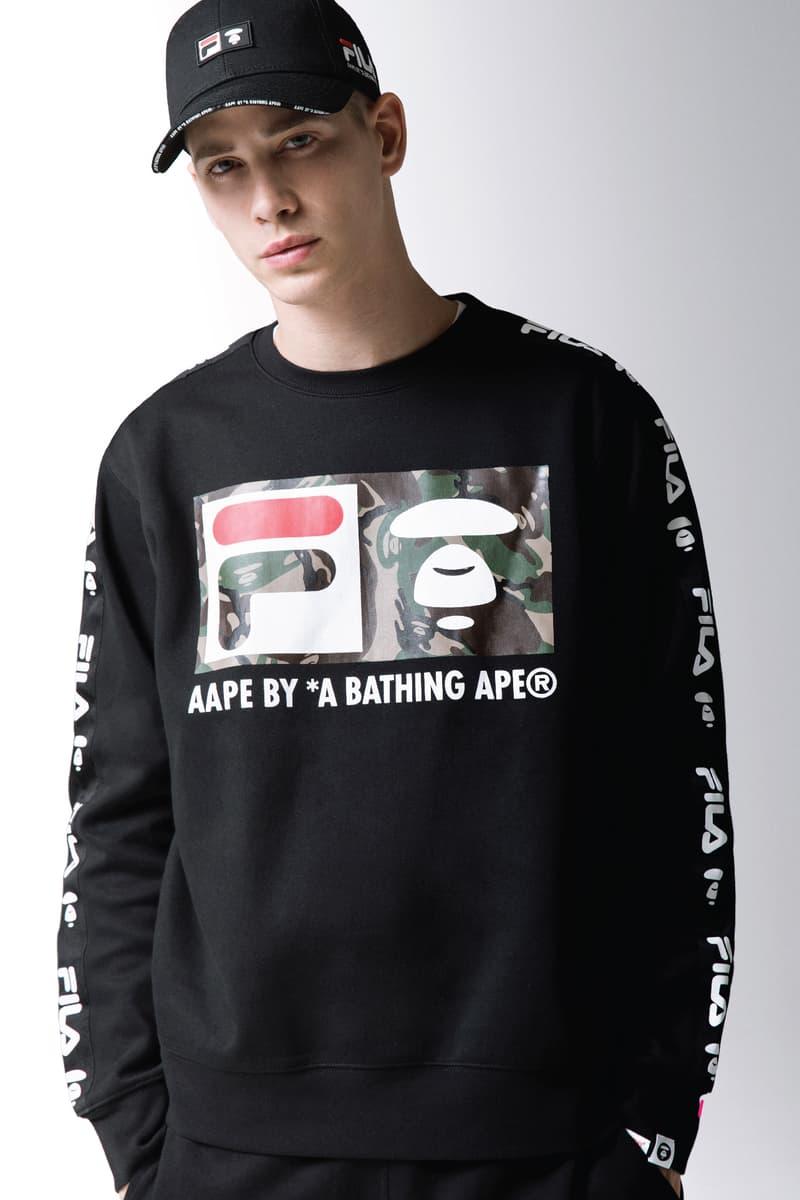 AAPE BY A BATHING APE® x FILA 炮製矚目聯乘作