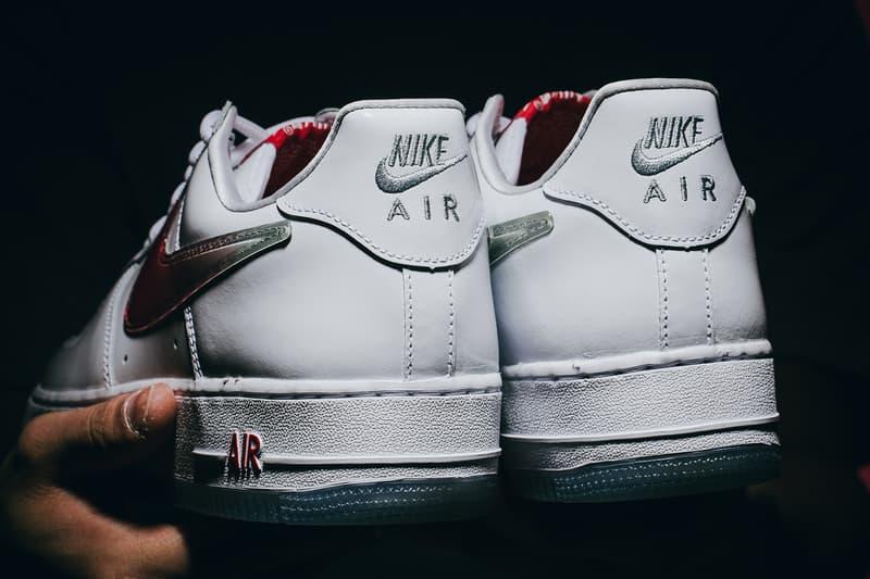 近賞全新 Nike Air Force 1「台灣」復刻配色