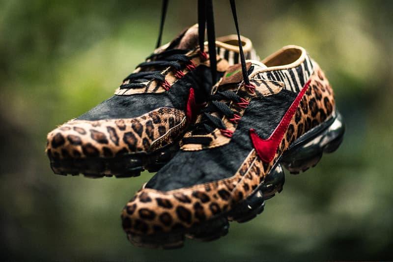 近覽 atmos x Nike Air VaporMax「Animal」客製聯乘版本