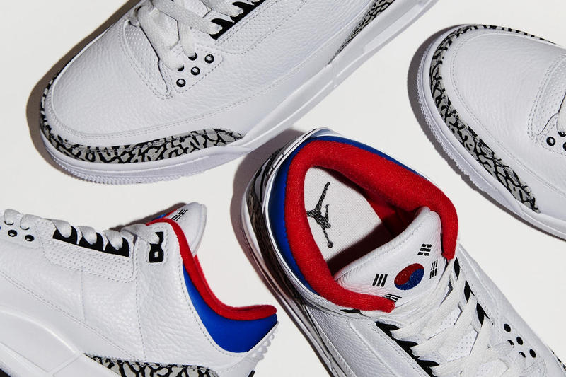 Jordan Brand 為 Air Jordan 3 打造「首爾」別注配色