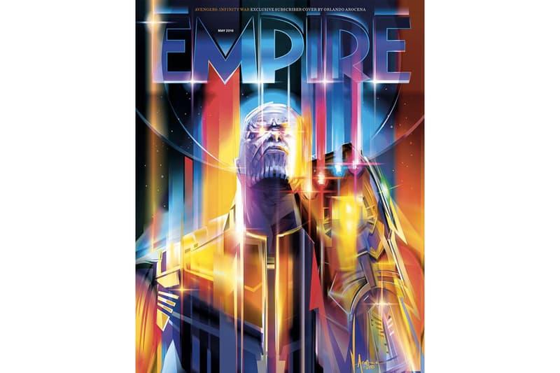 Thanos 獨霸 −《Avengers: Infinity War》登上《Empire》最新封面