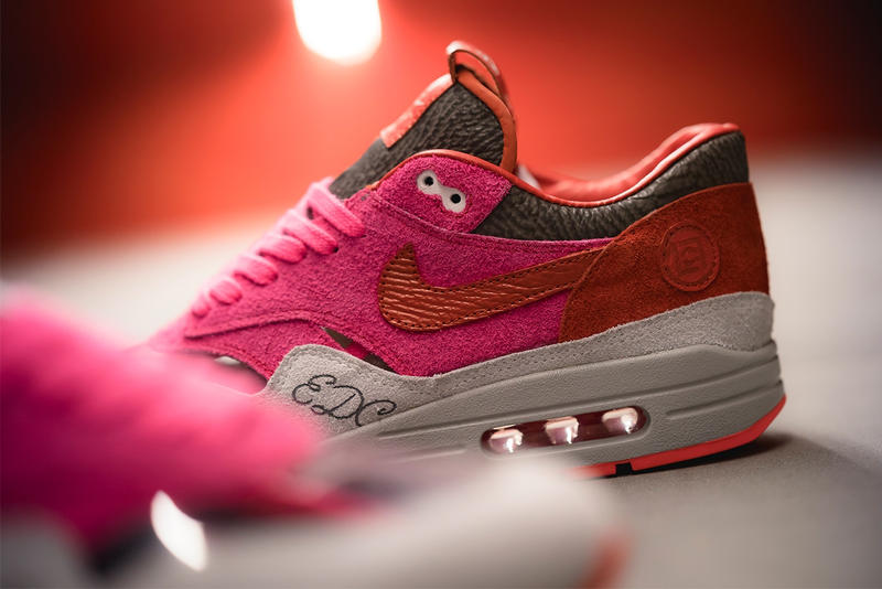 BespokeIND 打造 CLOT x Nike Air Max 1「Kiss of Death」定製配色
