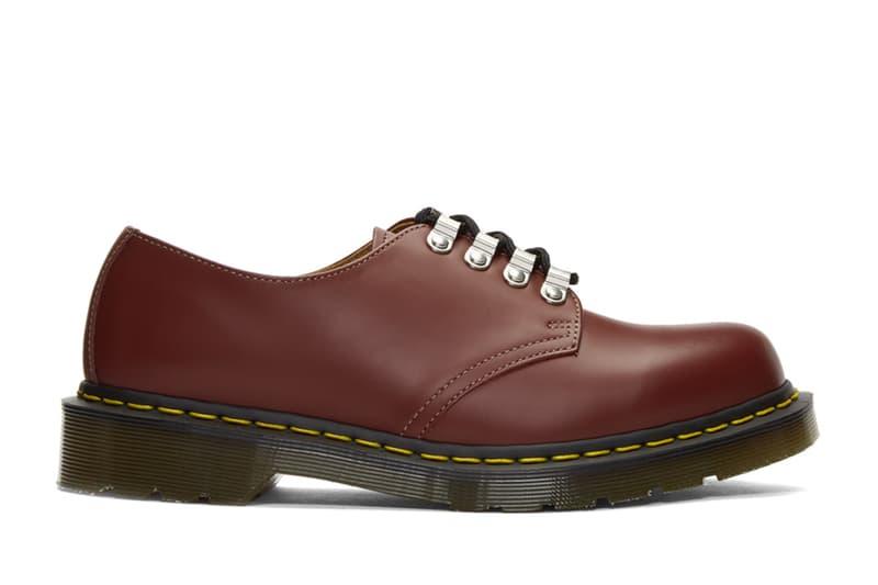 COMME des GARÇONS HOMME DEUX x Dr. Martens 推出別注聯名 1861 鞋款