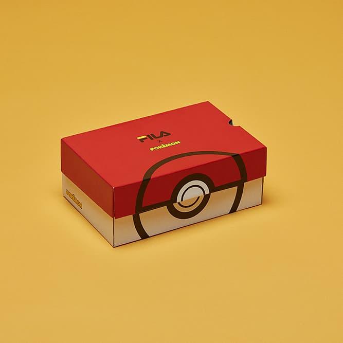 《Pokémon》x FILA Court Deluxe Low-Top 聯乘系列登場