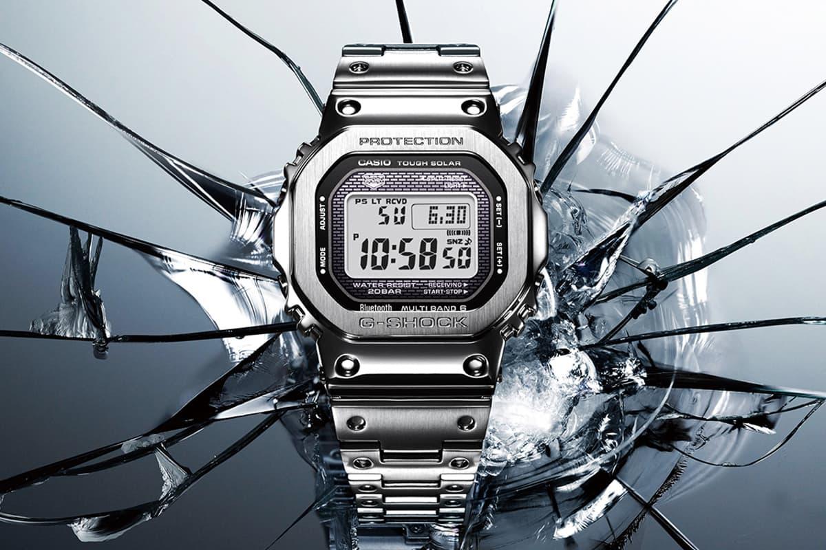 鋼の進化!G-Shock 元祖 DW-5000 不繡鋼錶殼變奏