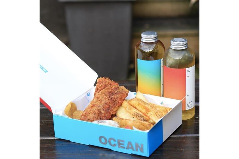 HYPEBEAST Eats... 專屬台灣風味的「Fish & Chips」店舖 OCEAN BOX 進駐台北華山