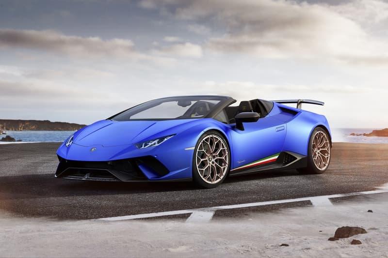 Lamborghini Huracan Performante Spyder 敞篷版本升级登场