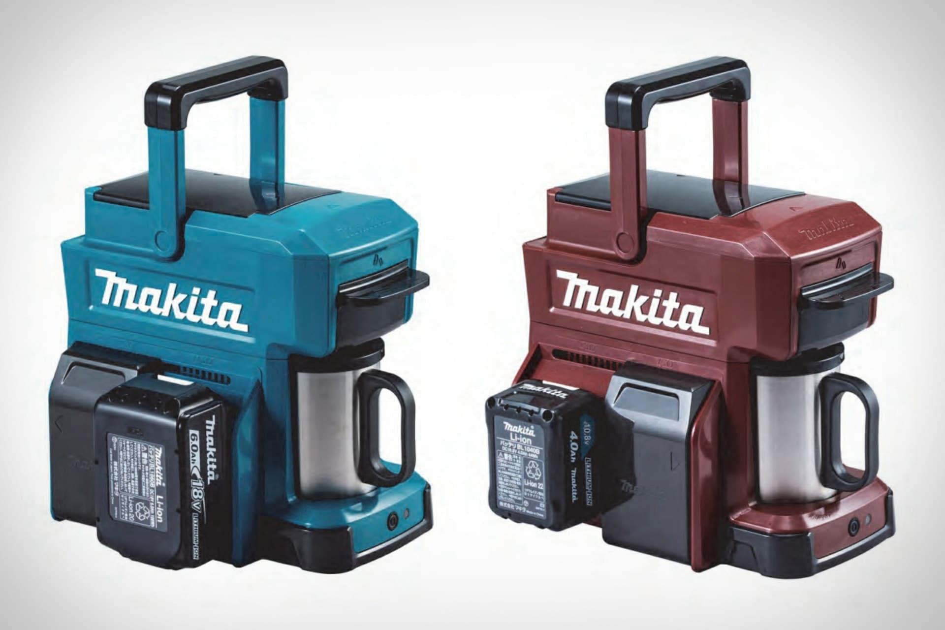Makita 推出工業風便攜式咖啡機