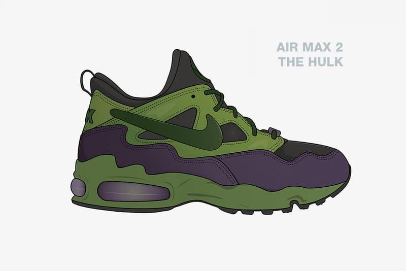 鞋迷打造 Marvel x Nike「超級英雄」主題概念設計