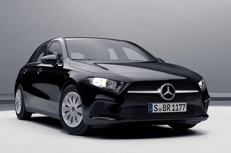 Mercedes-Benz 2018 新款入門版 A-Class 現身