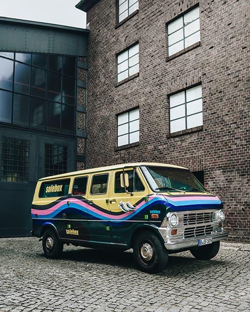 Solebox 將通過特製貨車發售 Sean Wotherspoon x Nike Air Max 1/97