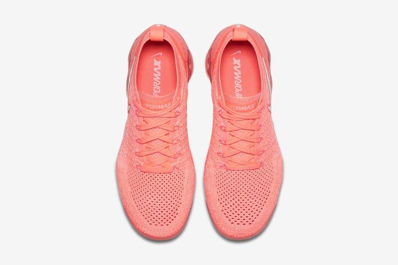 Nike Air VaporMax Flyknit 2.0 全新配色設計「Crimson Pulse」