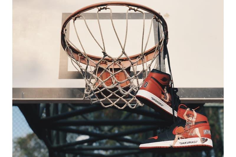 重現經典!《Slam Dunk》x Air Jordan 1「櫻木花道」客製聯乘鞋款