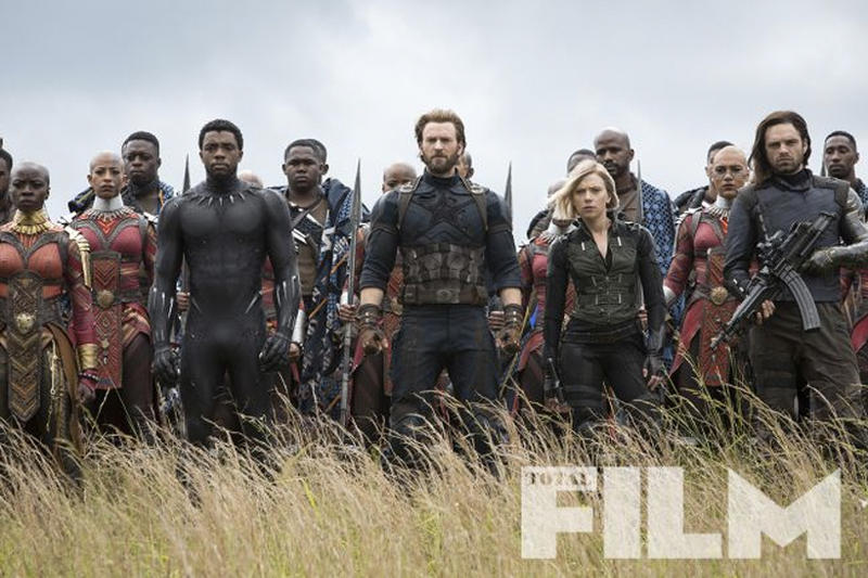 四王合體!《Total Film》公布《Avengers: Infinity War》最新劇照
