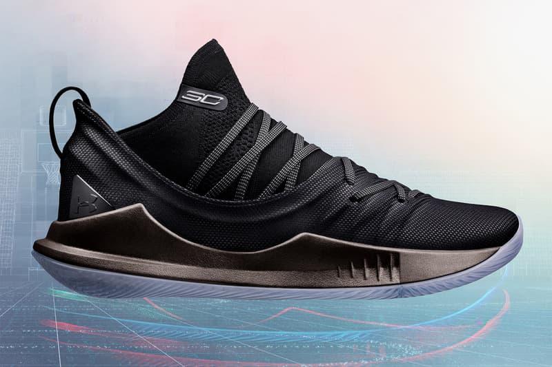 Under Armour 正式發佈全新籃球鞋 Curry 5「π Day」