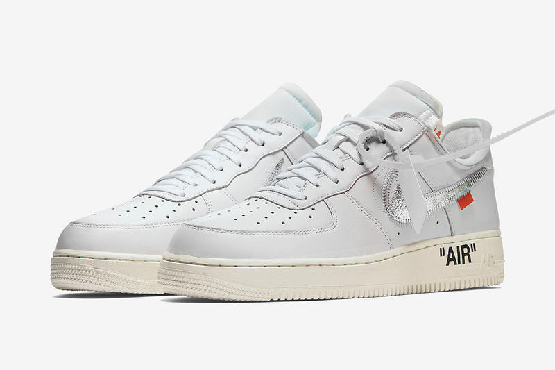 free shipping b0d75 0303b Virgil Abloh x Nike Air Force 1  07「AF100」或將迎來
