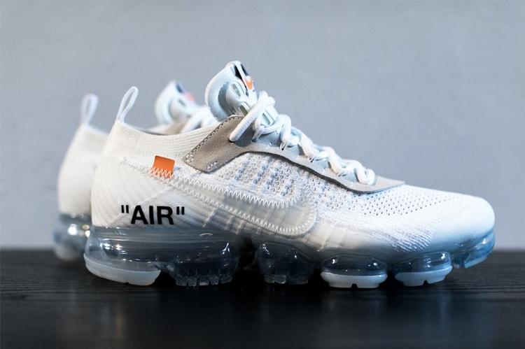 38a51802b571 Virgil Abloh x Nike Air VaporMax 2018 最新聯乘發售日曝光!