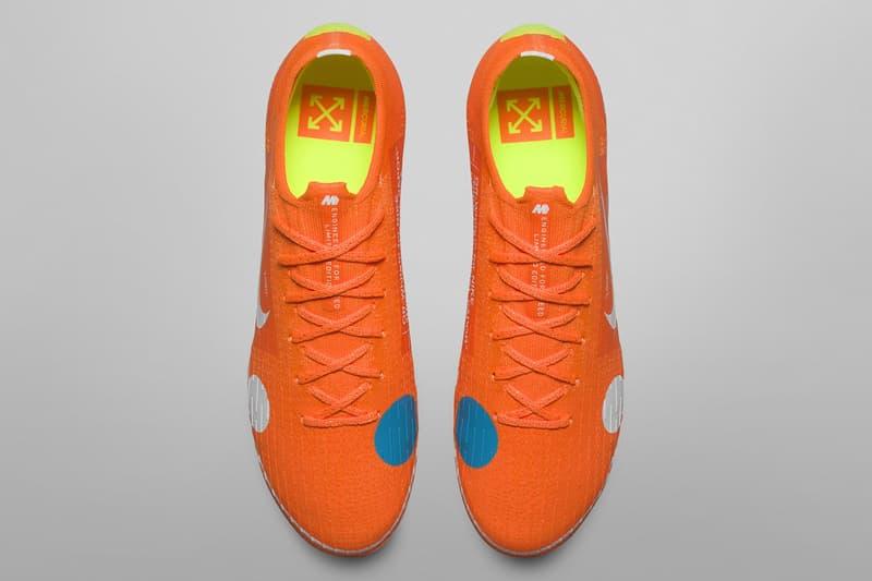 Virgil Abloh x Nike Mercurial Vapor 360 聯乘足球鞋發售詳情公開