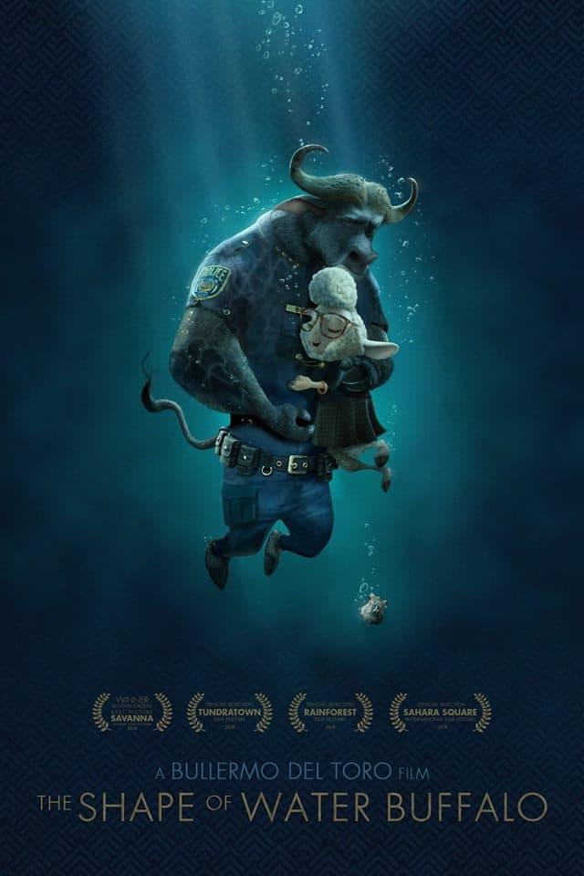 Disney 以動畫《Zootopia》惡搞電影海報