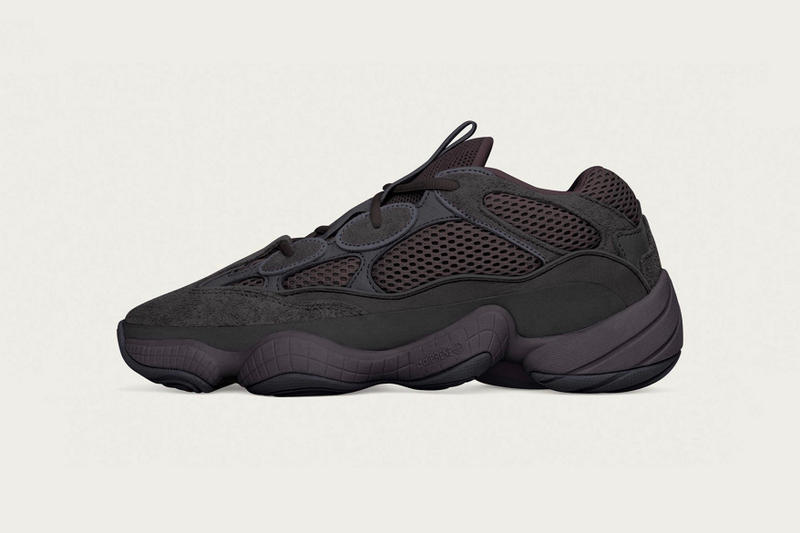 adidas + KANYE WEST YEEZY 500 全新「Utility Black」配色發售信息曝光