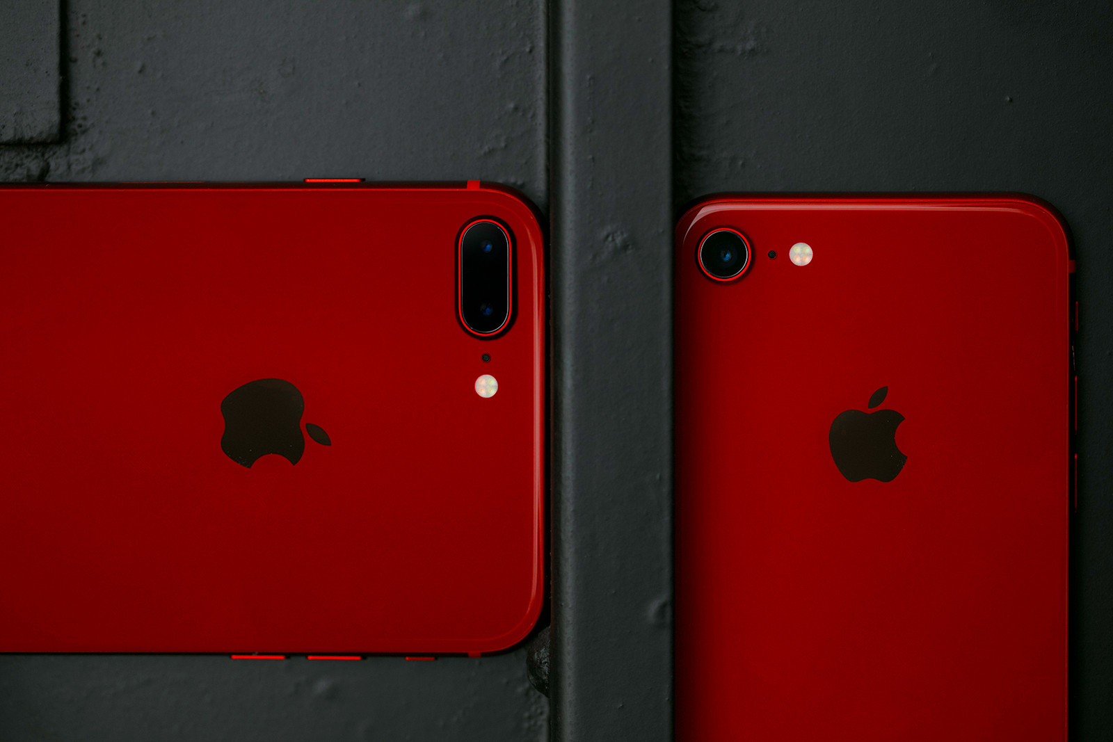 Apple iPhone 8 及 iPhone 8 Plus 紅色特別版全方位實物近賞