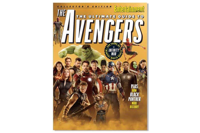 《Entertainment Weekly》推出全新《Avengers: Infinity War》珍藏版