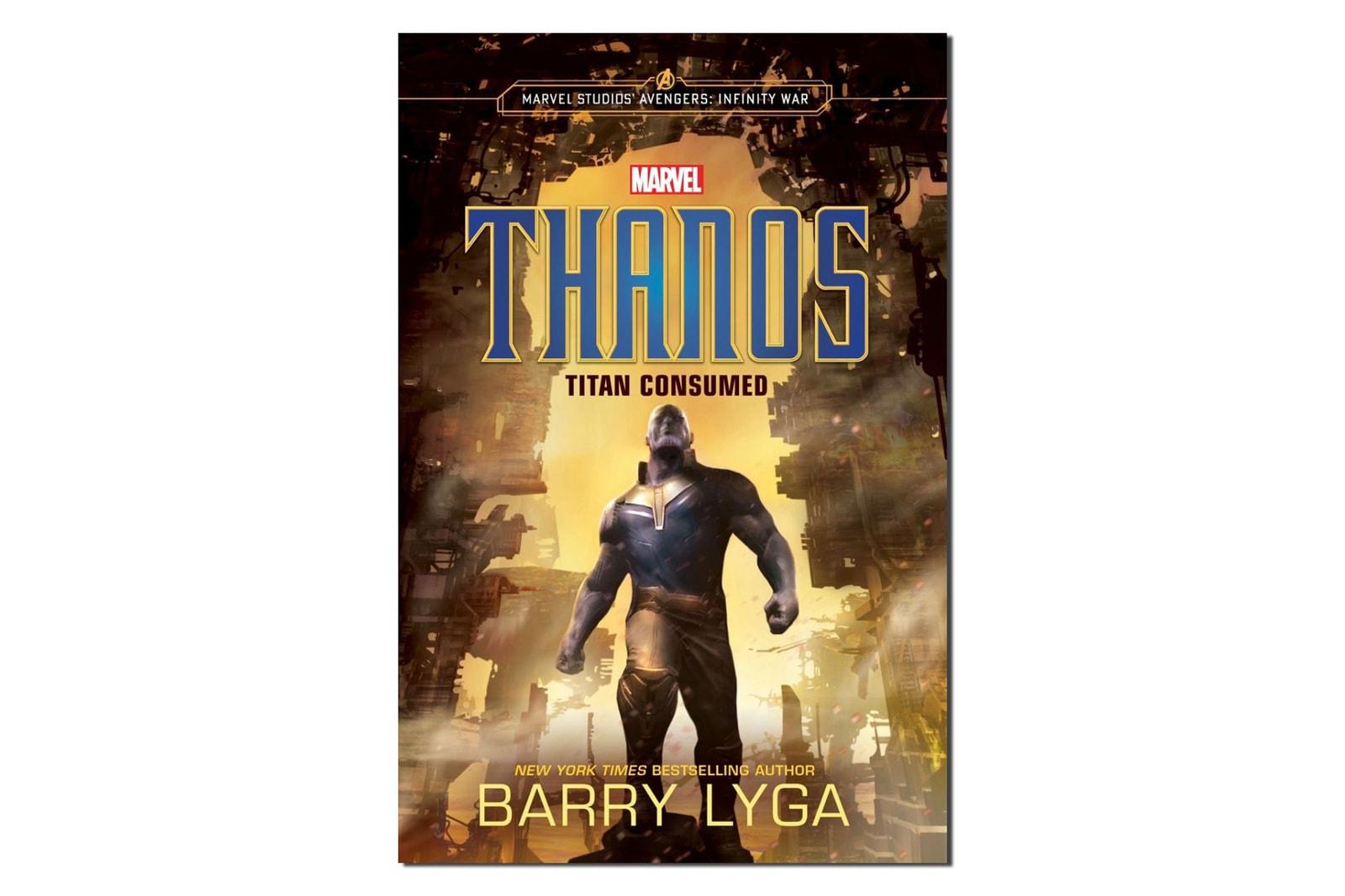 Marvel 將出版小說《Thanos - Titan Consumed》