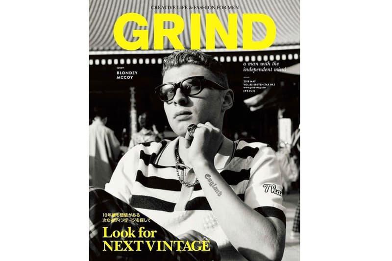 Blondey McCoy 登上《GRIND》第 82 期封面