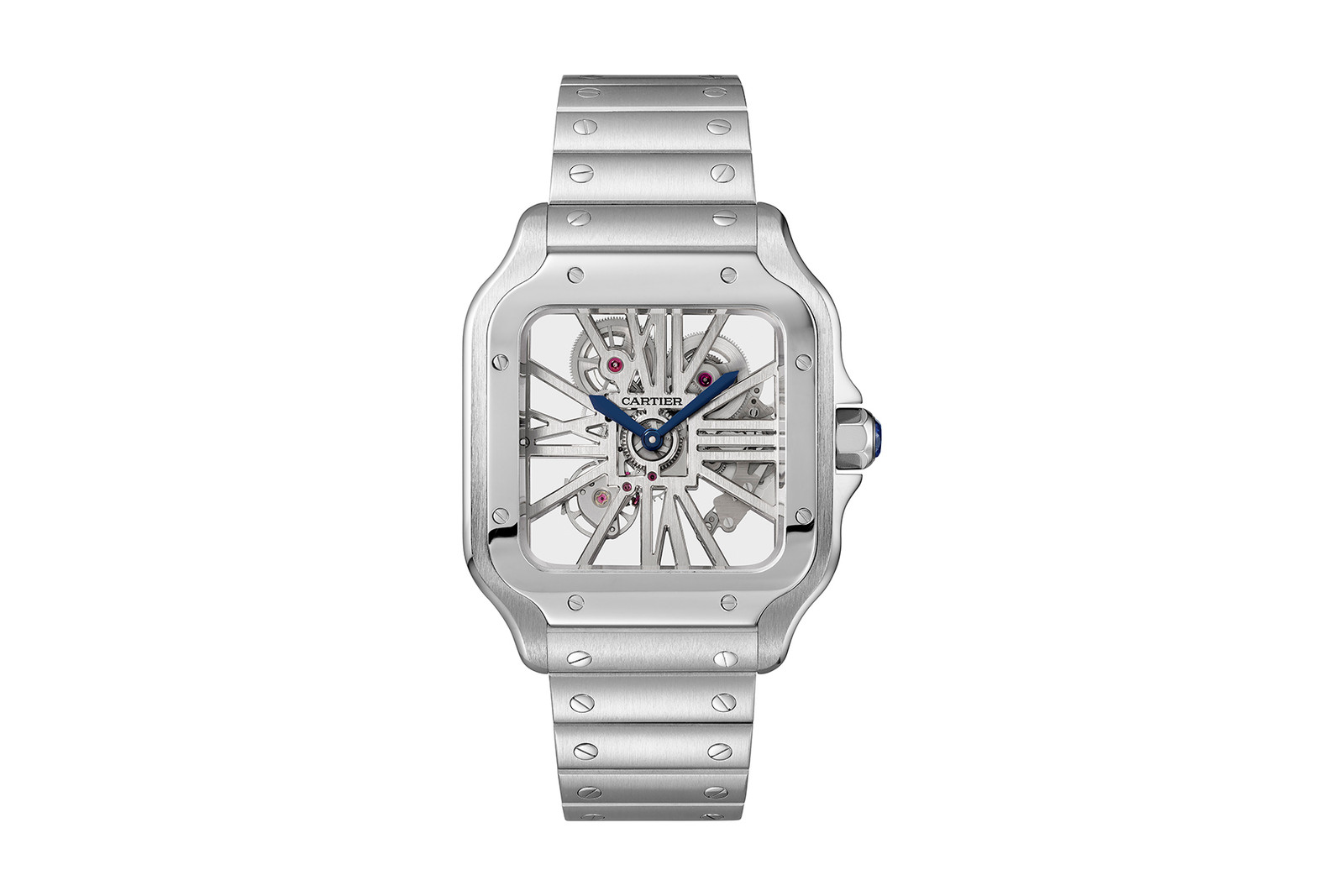 Cartier 推出全新 Santos de Cartier Skeleton
