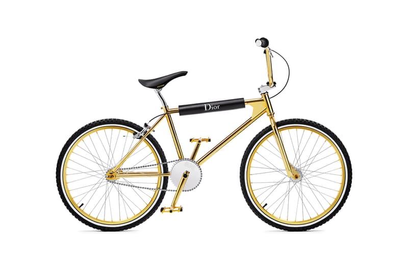 Dior 與 Bogarde 推出超限量 100 部金色 BMX