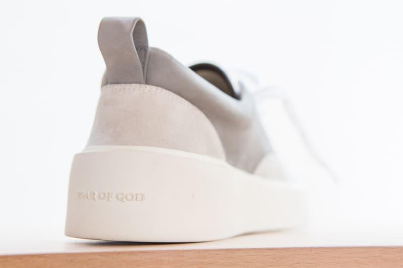 Jerry Lorenzo 曝光 Fear of God 全新 101 鞋款設計