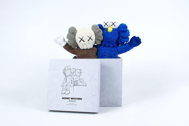 KAWS 全新雕塑「KAWS:SEEING/WATCHING」將推出紀念單品系列