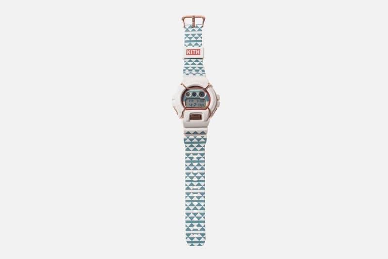 近賞 KITH x G-SHOCK DW6900 聯乘腕錶