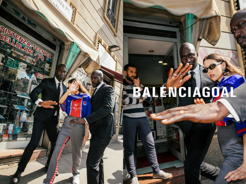Les Vetements de Football 2018 春夏「惡搞」球衣系列上架