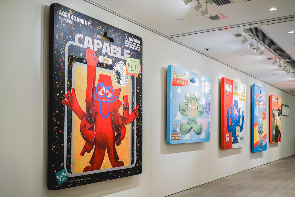Christie's x Michael Lau Exhibition 6「COLLECT THEM ALL !」個人展覽