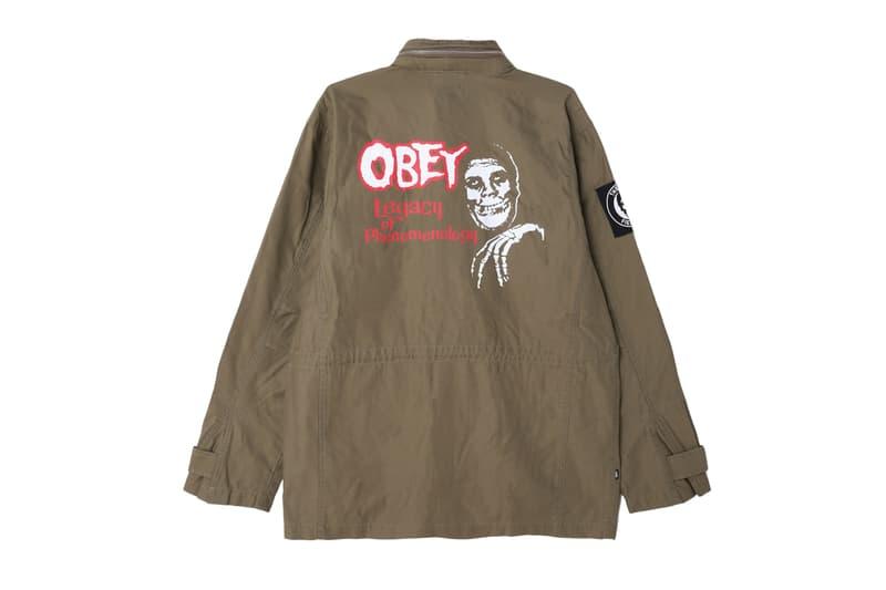 OBEY x Misfits 聯乘別注系列 Lookbook