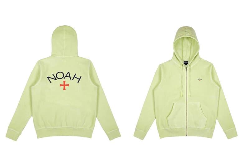 有貨快搶!NOAH 春夏 Zip-Up 衛衣外套現已上架!