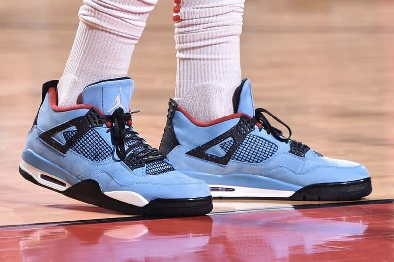 NBA 最強鞋頭 P.J. Tucker 搶先著用 Travis Scott x Air Jordan 4 最新聯乘