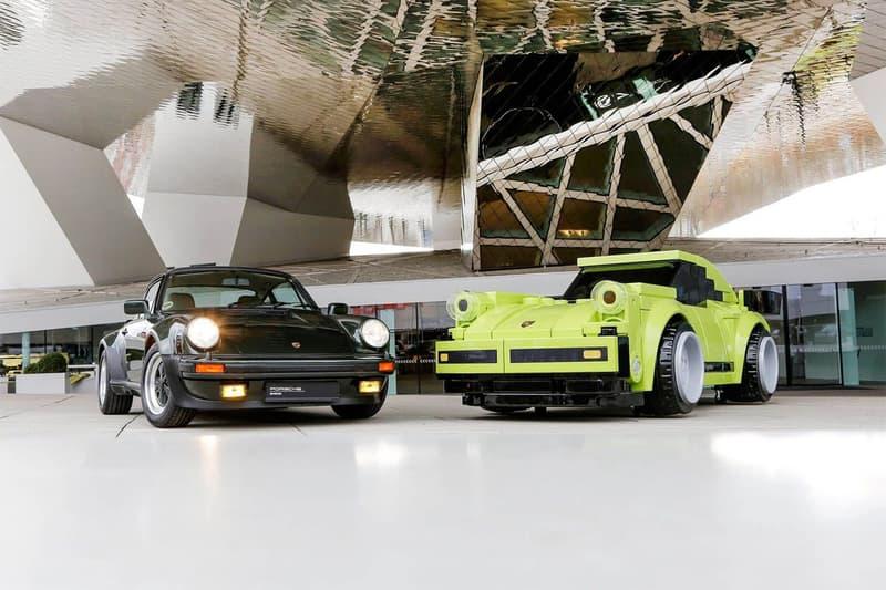 LEGO x Porsche 巨大化積木重現真實比例經典 911 Turbo