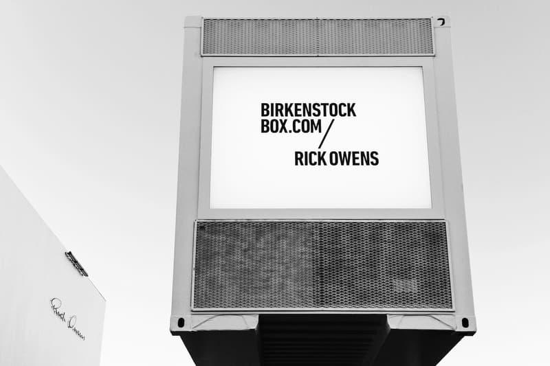 Rick Owens x Birkenstock 聯乘系列洛杉磯發布派對現場回顧