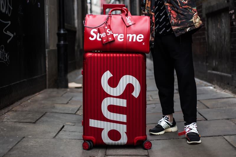 直擊 Supreme x RIMOWA 重磅聯乘系列倫敦發售現場