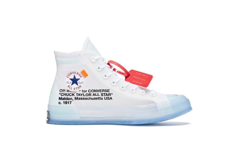 Converse x Virgil Abloh Chuck 70 聯乘鞋款正式發布