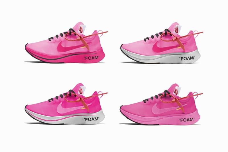 Off-White™ x NikeLab Zoom Fly 或將迎來全新「Racer Pink」粉色版本