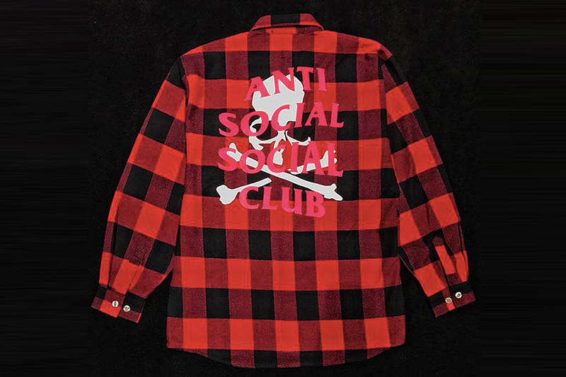 突擊上架!Anti Social Social Club x mastermind JAPAN 別注 Flannel Shirt