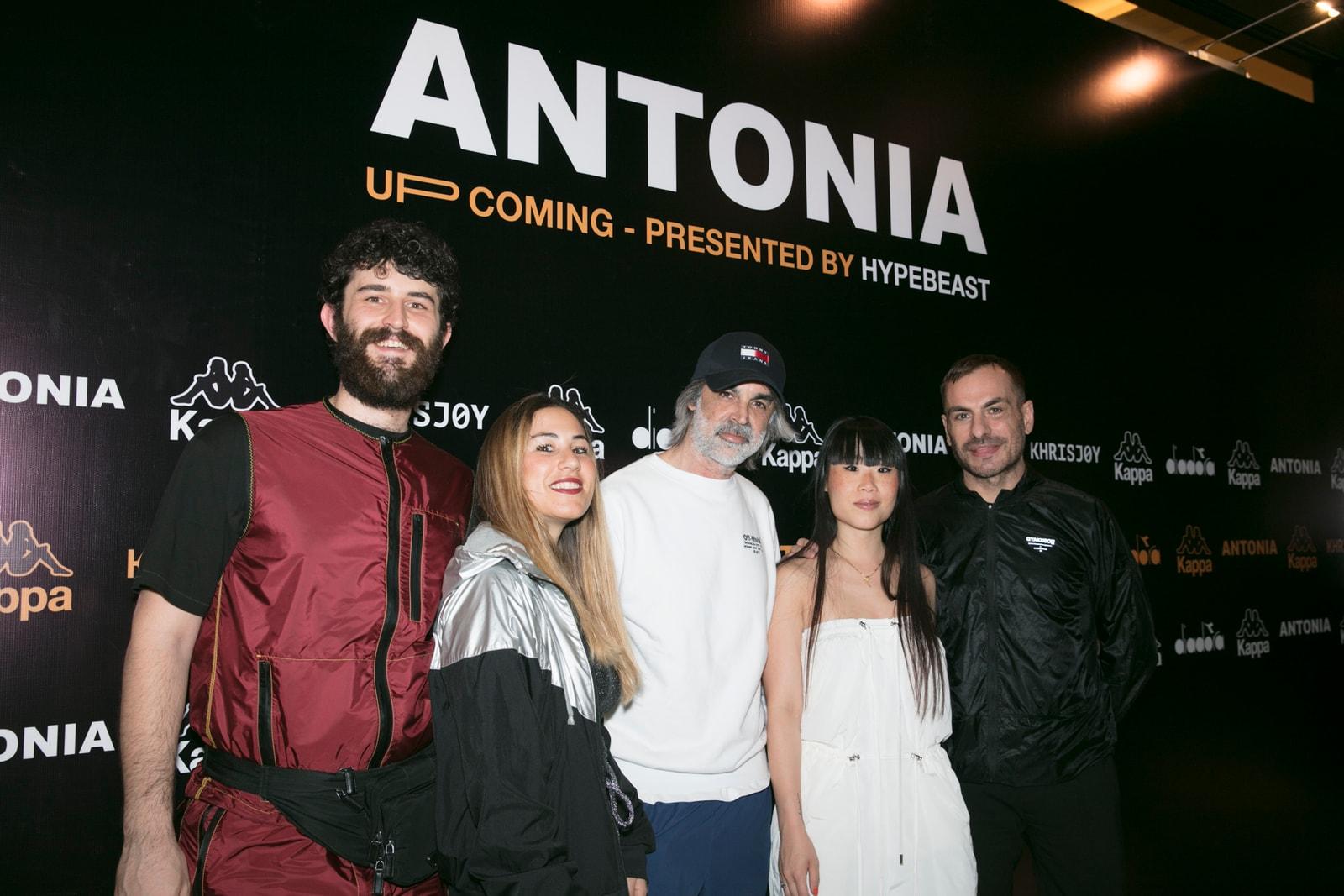 走進澳門 Antonia 的派對現場,並帶來與 Diadora、Kappa 和 Khrisjoy 之聯名單品
