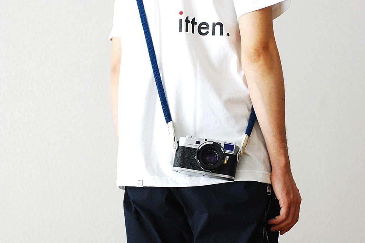 日本傳統工藝別注-EPM x itten. 天然藍染 Yosemite Camera Strap