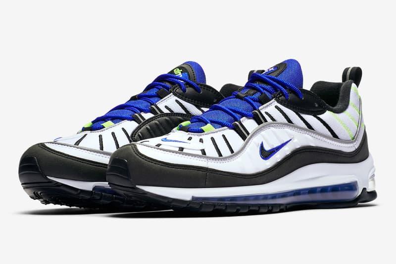 Nike 發佈 Air Max 98「Sprite」配色