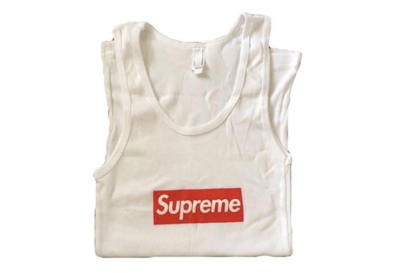 若你有這件 Supreme Box Logo 背心或許可以賣個好價格