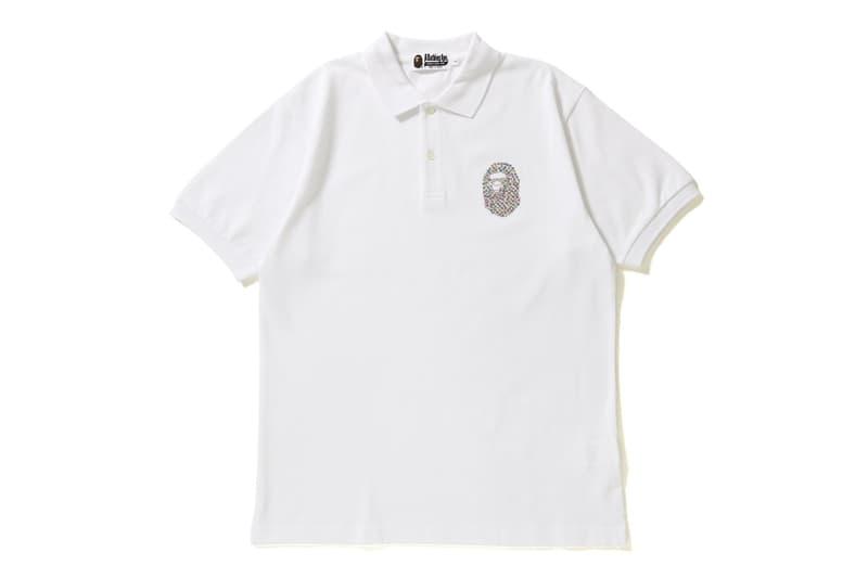 A BATHING APE®「APE HEAD」鑲鑽 Polo 衫系列上架
